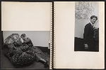 [Claire Falkenstein scrapbook of her exhibition at the Galerie Stadler pages 8]