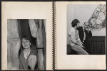 [Claire Falkenstein scrapbook of her exhibition at the Galerie Stadler pages 12]