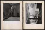 [Claire Falkenstein scrapbook of her exhibition at the Galerie Stadler pages 20]