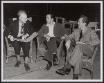 Leopold Stokowski, Walt Disney, and Robert Feild