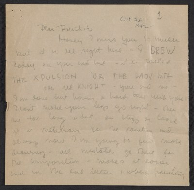 [Sylvia Fein letter to William Scheuber]