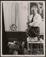 [Helen Lundeberg and Lorser Feitelson in their studio]