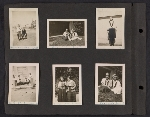 [Helen Lundeberg photograph album page ]