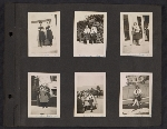 [Helen Lundeberg photograph album page 1]