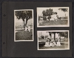 [Helen Lundeberg photograph album page 9]