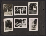 [Helen Lundeberg photograph album page 17]