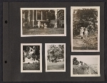 [Helen Lundeberg photograph album page 20]