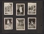 [Helen Lundeberg photograph album page 21]