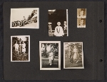 [Helen Lundeberg photograph album page 27]