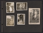 [Helen Lundeberg photograph album page 28]