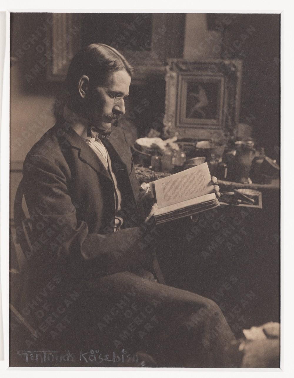 Arthur B. Davies, ca. 1908.