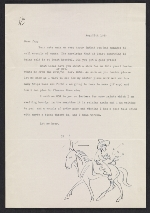 John Pike letter to F. Newlin (Frederic Newlin) Price, New York, N.Y.