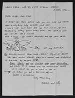 [Sandu Darie letter to Ethel Fisher page 1]