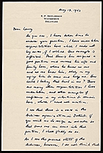 [Edgar Preston Richardson letter to Lawrence Arthur Fleischman, Detroit, Mich. ]