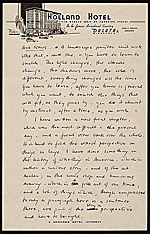 [Edgar Preston Richardson letter to Lawrence Arthur Fleischman, Detroit, Mich. 2]