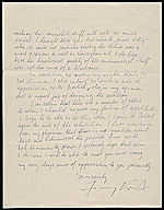 [Jimmy Ernst, New Canaan, Conn. letter to Lawrence Arthur Fleischman, Detroit, Mich. 1]