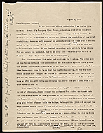 [Charles B. Culver letter to Lawrence and Barbara Fleischman, Detroit, Mich. ]