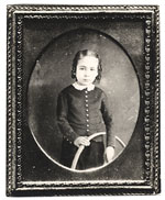 Thomas Eakins as a child