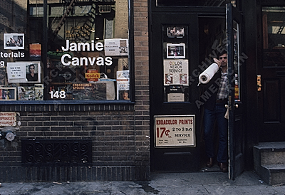 Jamie Canvas store in Soho