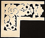 [Stencil for carving wood frame used by Foster Brothers Picture Frames 1]
