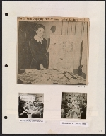 [LaVern Frank-Rush scrapbook page