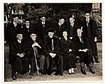 Honorary degree recipients at Brown University graduation