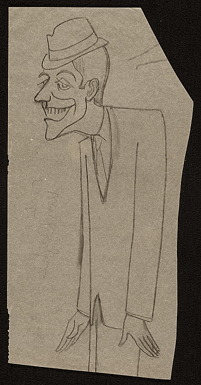 [Caricature of Dick Van Dyke]