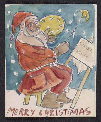 [Boris Artzybasheff Christmas card to Fred and Adelaide Gardner]