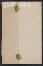 [Vickers family Christmas card to Fred and Adelaide Morris Gardner verso 1]