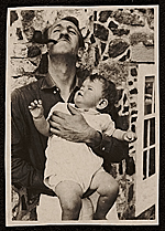 Lee Gatch and his daughter, Merriman