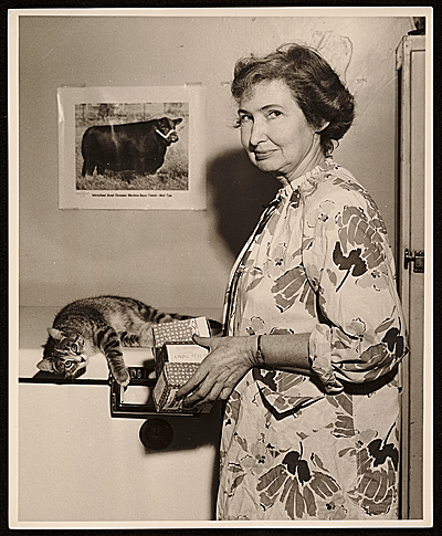 [Margaret Casey Gates at home]