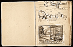 [Margaret Casey Gates sketchbook pages 16]