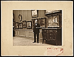 Walter Gay in a gallery