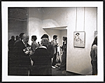 [Gertrude Kasle Gallery, opening for the Willem de Kooning exhibit ]