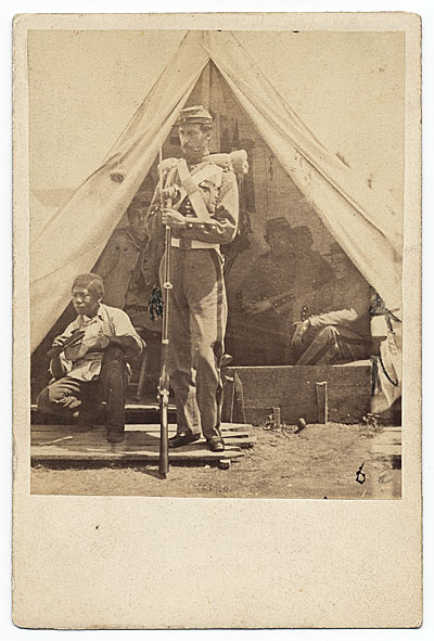 [Sanford R. Gifford during the American Civil War]