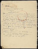 [Various notes/sketches on Picasso? 25]