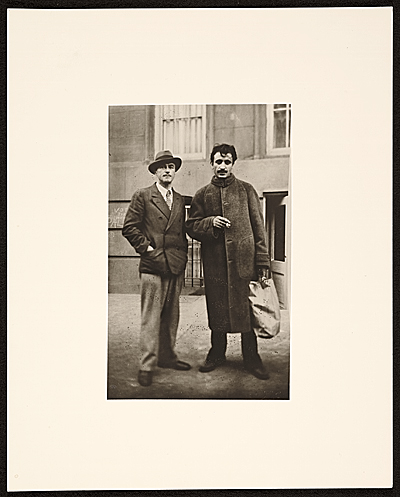 John Graham and Arshile Gorky