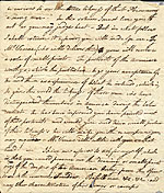 [Benjamin West letter to Charles Willson Peale page 2]