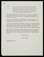 [Barnett Newman letter to Clement Greenberg 1]