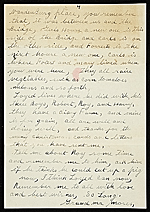 [Grandma Moses (Anna Mary Robertson Moses) letter to Frances and Mary Virginia Greer 3]