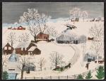 [Grandma Moses Christmas card to Frances Greer ]