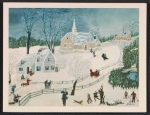 [Grandma Moses Christmas card to Frances and Mary Virginia Greer ]
