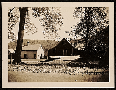 [Robert Strong Woodward's home and studio in Buckland, Massachusetts]