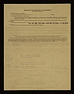 [New York World's Fair Commission receipt for Court of Peace 1]