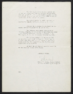 [Edward Beatty Rowan, Washington, D.C. letter to Chaim Gross, New York, N.Y. page 3]