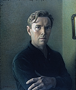 Reproduction of Werner Groshans' Self portrait
