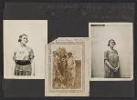 [Lena Gurr photograph album pages page 5]