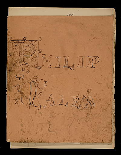 Philip Hales sketchbook