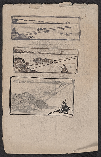 [Landscape sketches]