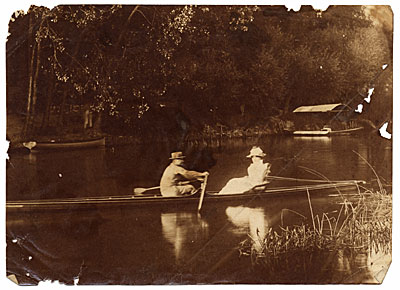[Philip Leslie Hale rowing]